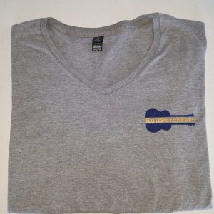 Ladies V-Neck Hull PorchFest T Shirt